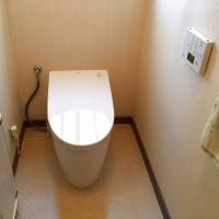 最新トイレに交換