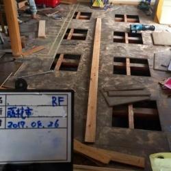圧密沈下による床の不具合