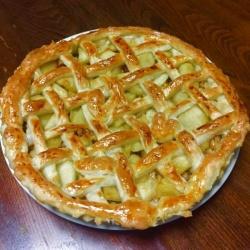 アップルパイの完成度が半端ない!